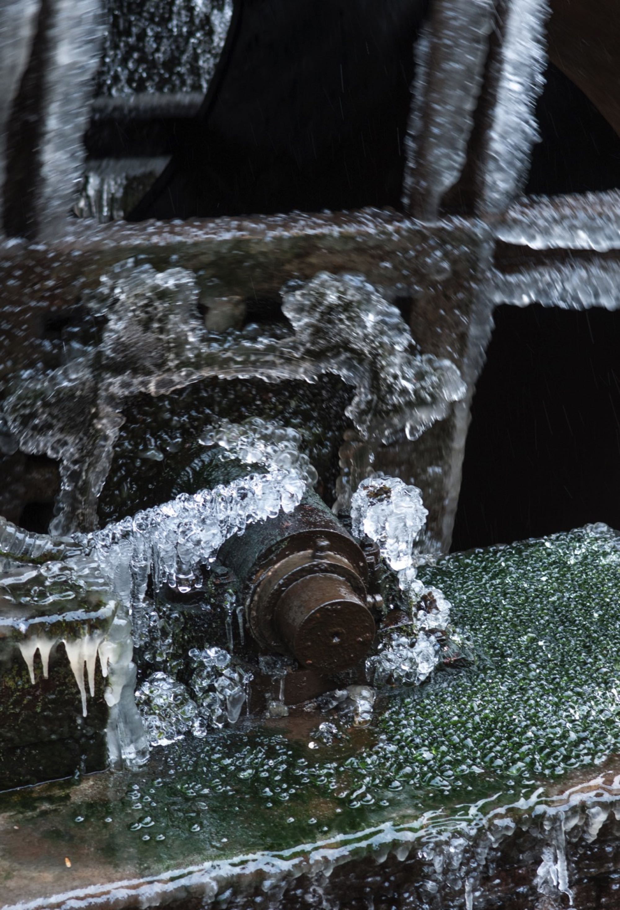Rost im Frost